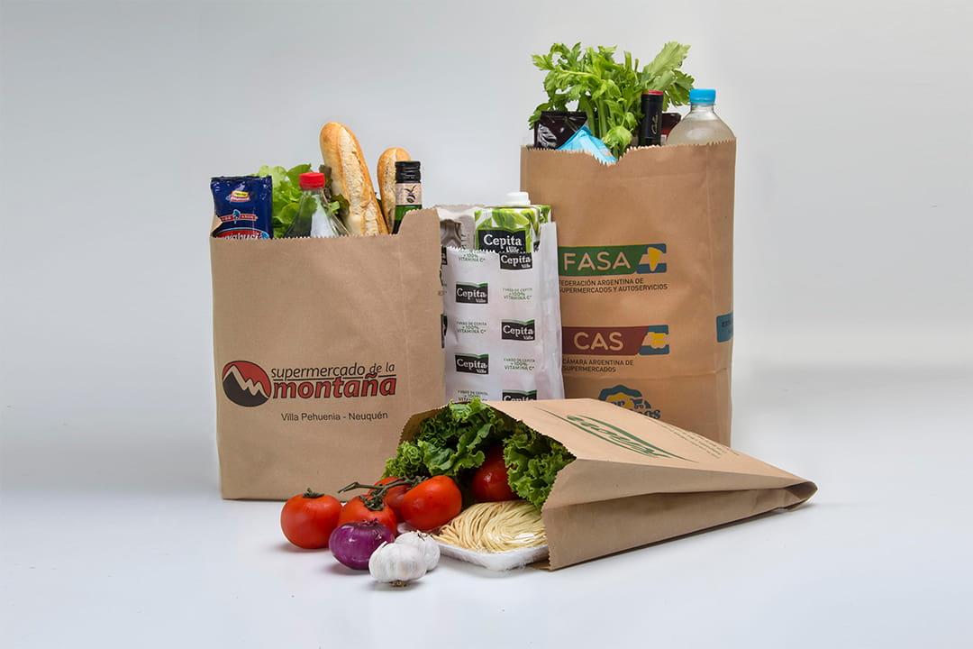 Bolsas para delivery de supermercados
