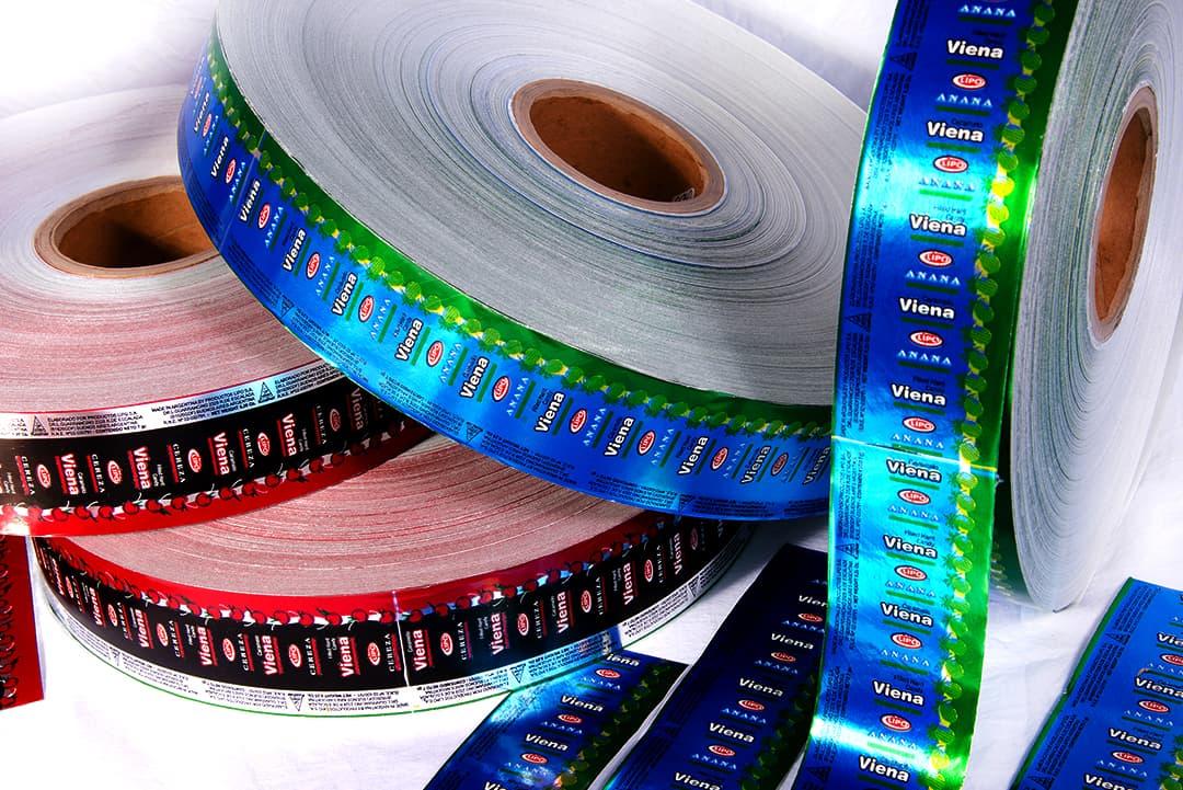 Bobinas de papel parafinado